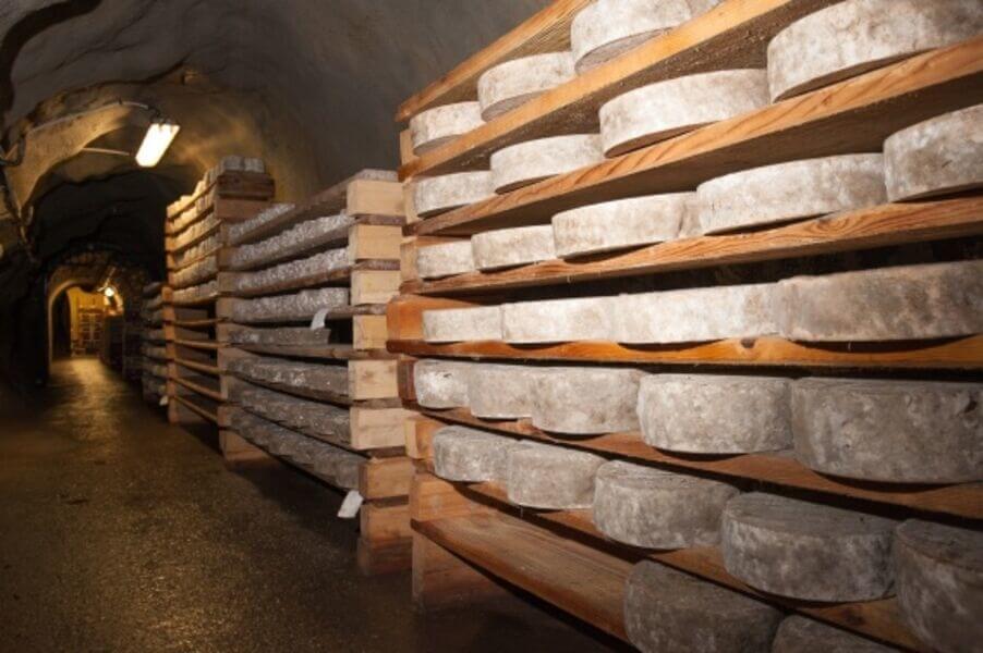 Caves d'Affinage de Savoie - Tunnel
